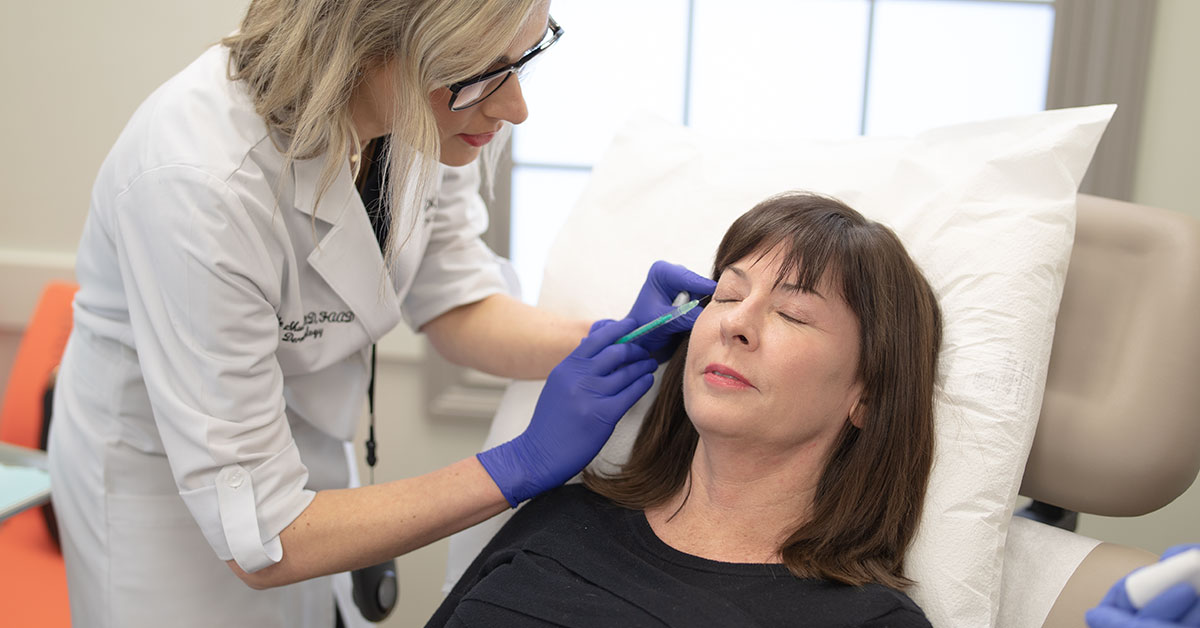 Our cosmetic dermatology Chattanooga services range from creating custom skin care regimens to cosmetic treatments and procedures to restore health to your skin.